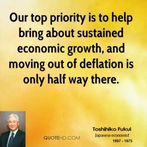 Deflation quote #1