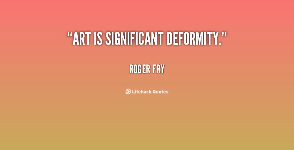 Deformity quote #1