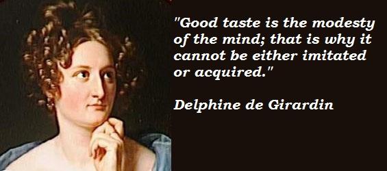 Delphine de Girardin's quote #3