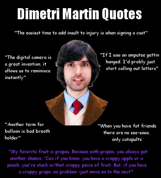 Demetri Martin's quote #5