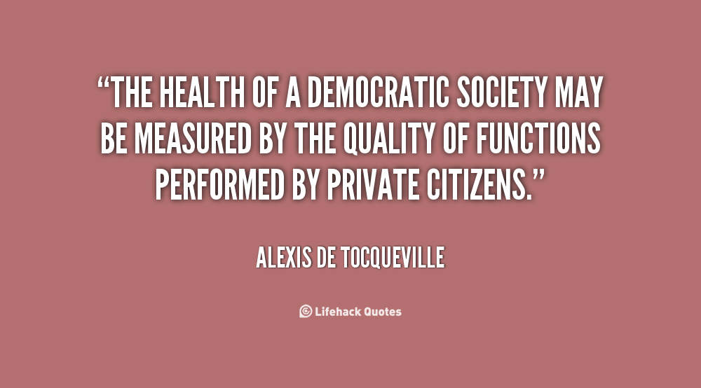Democratic Society quote #2