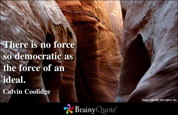 Democratic Society quote