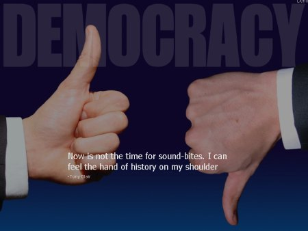 Democratic System quote #1