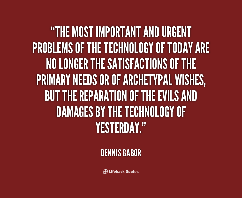 Dennis Gabor's quote #1
