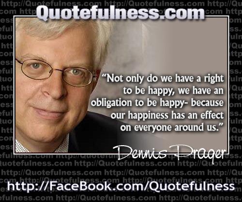 Dennis Prager's quote