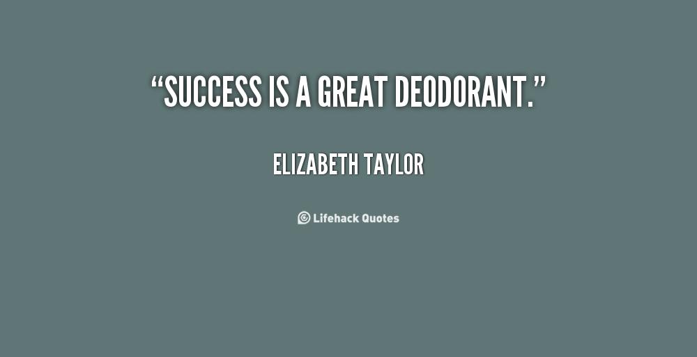 Deodorant quote #1