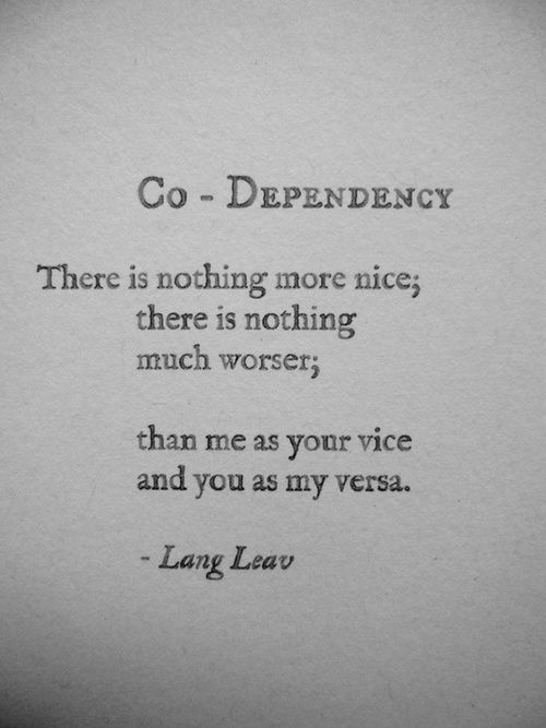 Dependency quote #1