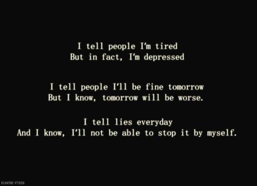 Depress quote #1