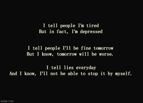 Depressed quote #1