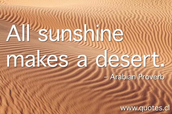 Desert quote #1