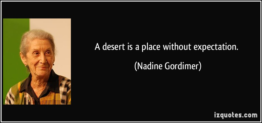 Desert quote #6