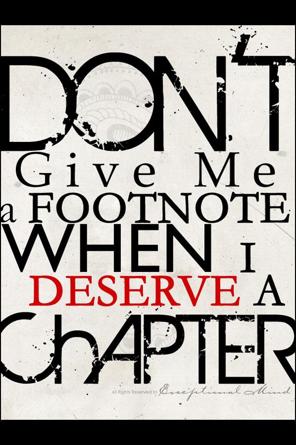 Deserve quote #3