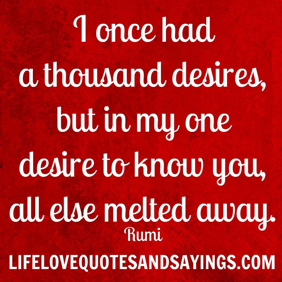 Desires quote #1