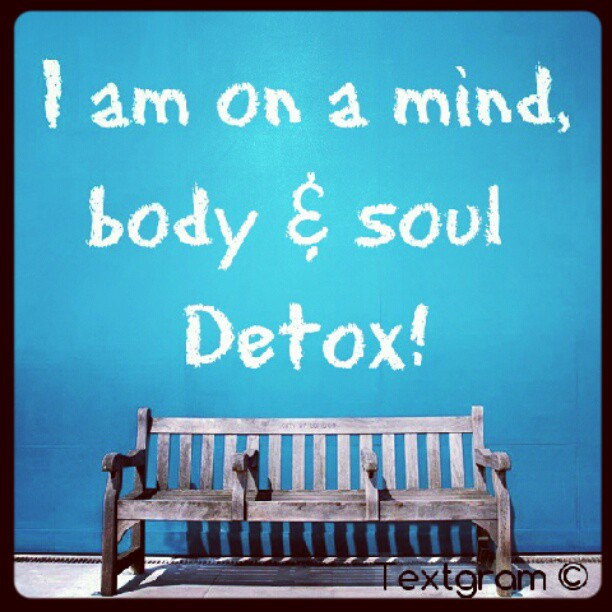 Body Present Mind Absent Quotes: Famous Quotes About 'Detox'