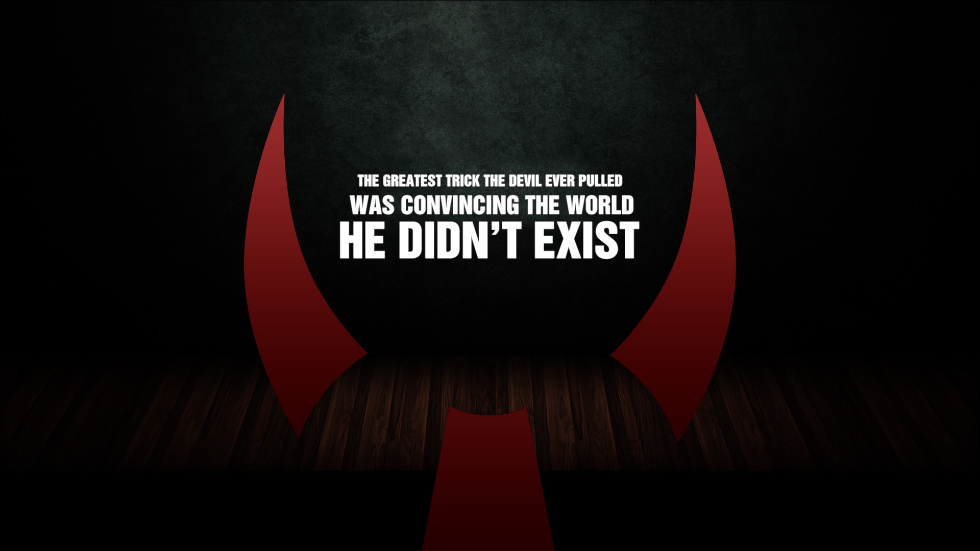 Devil quote #1