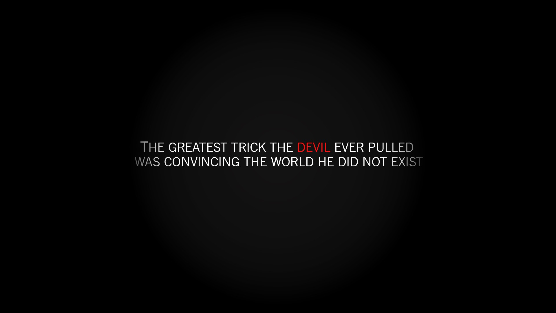 Devil quote #7