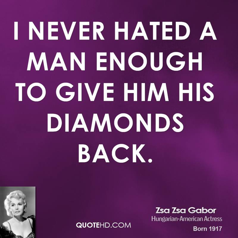 Diamonds quote #4