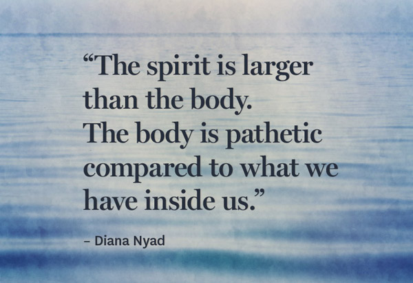 Diana Nyad's quote #1