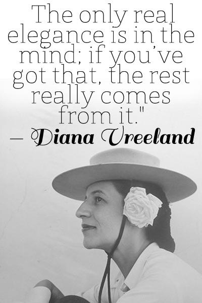 Diana Vreeland's quote #2