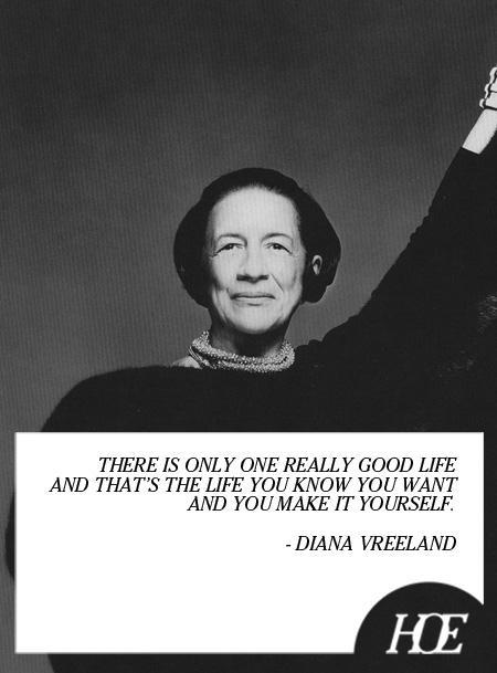 Diana Vreeland's quote #1