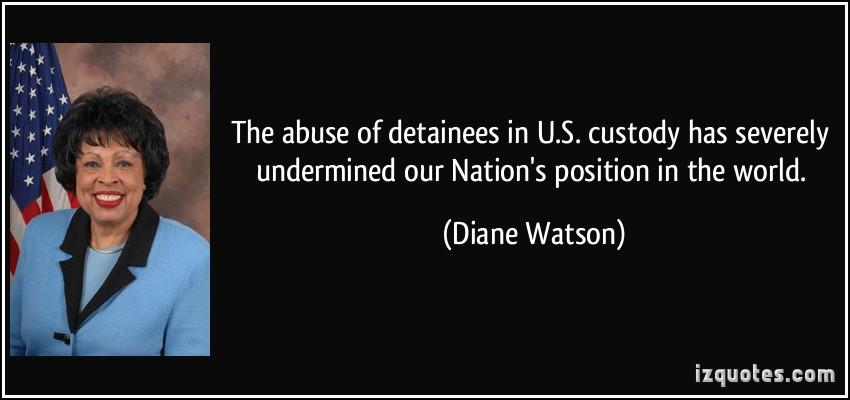 Diane Watson's quote