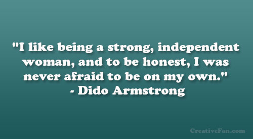 Dido Armstrong's quote #3