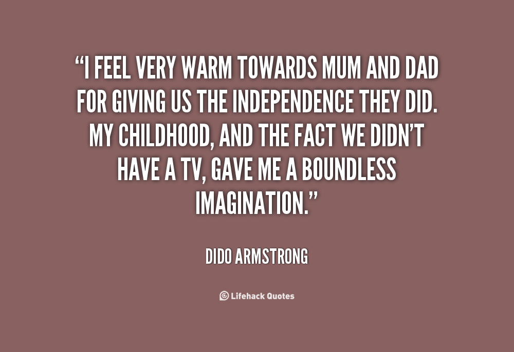 Dido Armstrong's quote #4