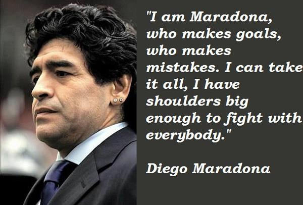 Diego Maradona's quote #2