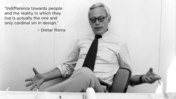 Dieter Rams's quote