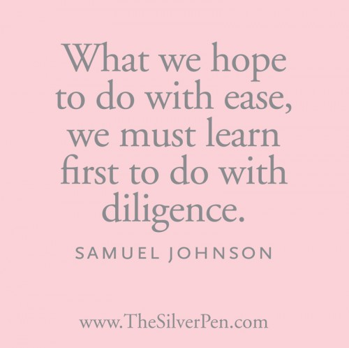 Diligence quote #2