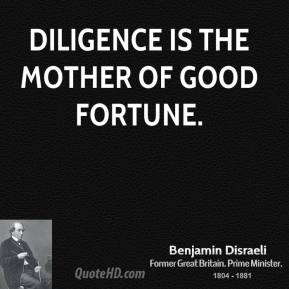 Diligence quote #4