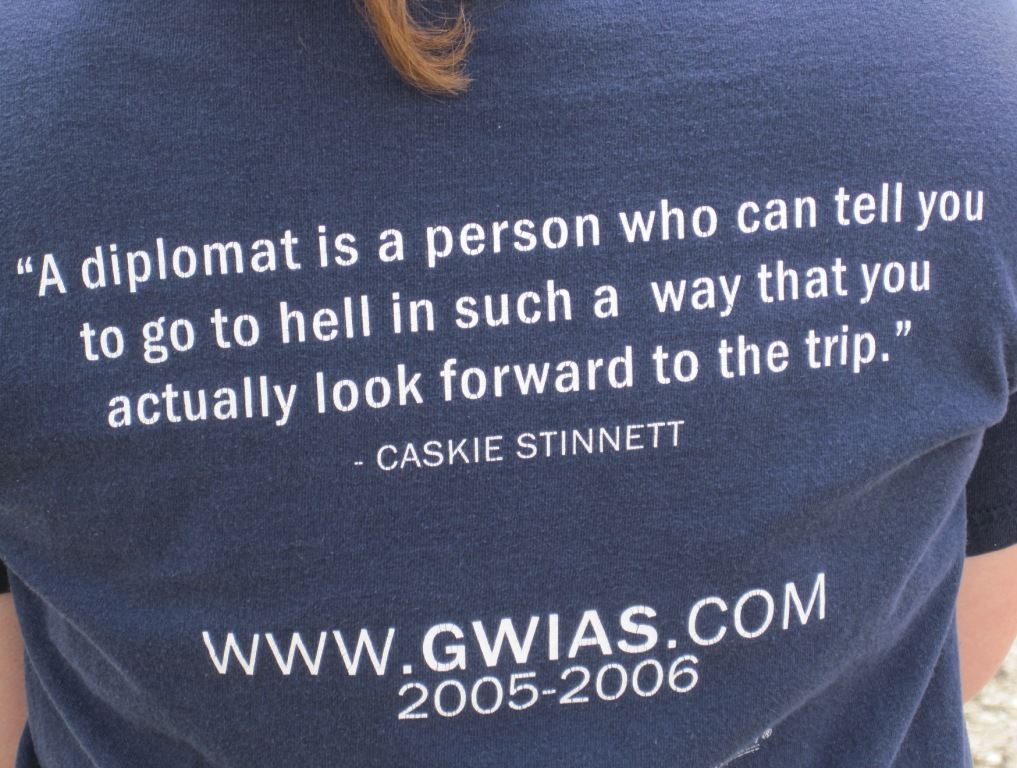 Diplomatic quote #3