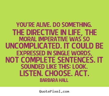 Directive quote #1