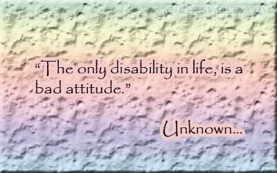 Disability quote #1