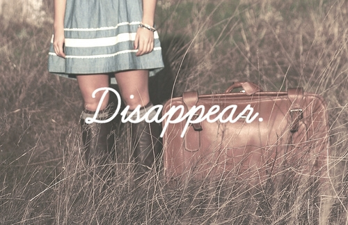 Disappear quote #2