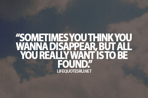 Disappear quote #5