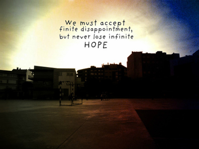 Disappointment quote #1