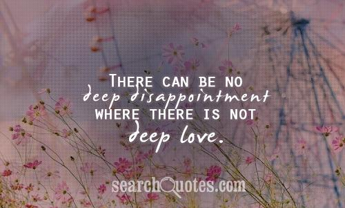 Disappointment quote #2