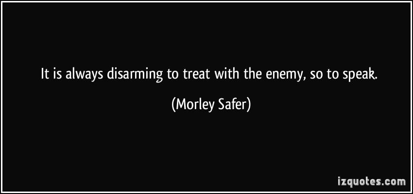 Disarming quote #1
