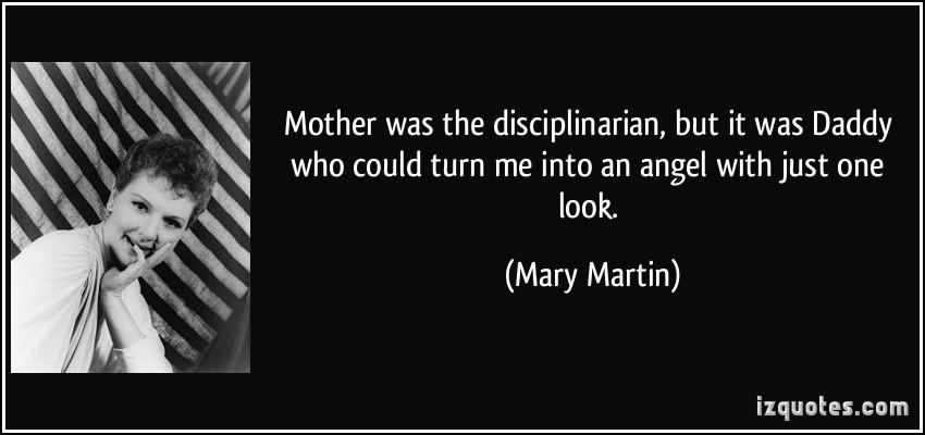 Disciplinarian quote #2