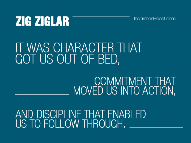 Discipline quote #1