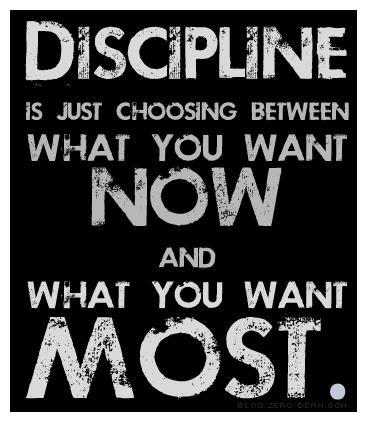 Discipline quote #2