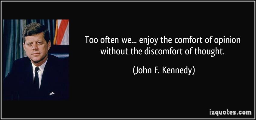 Discomfort quote #2