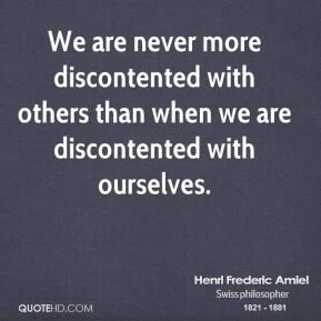 Discontented quote #1
