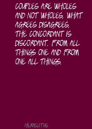 Discordant quote #1