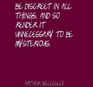 Discreet quote