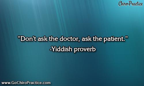 Disease quote #3