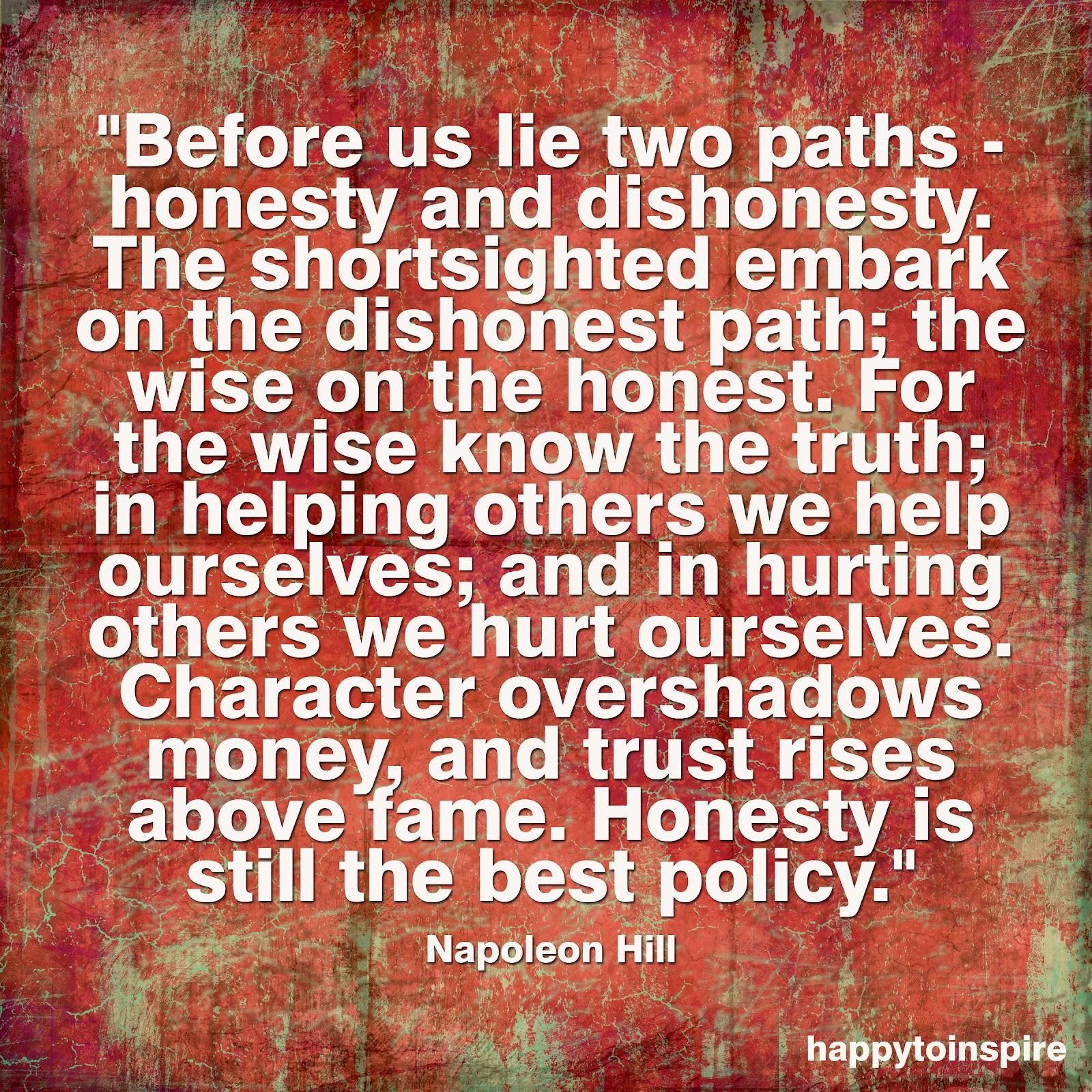 Dishonest quote #1