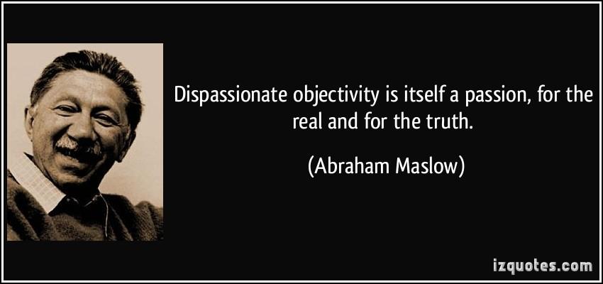 Dispassionate quote #2