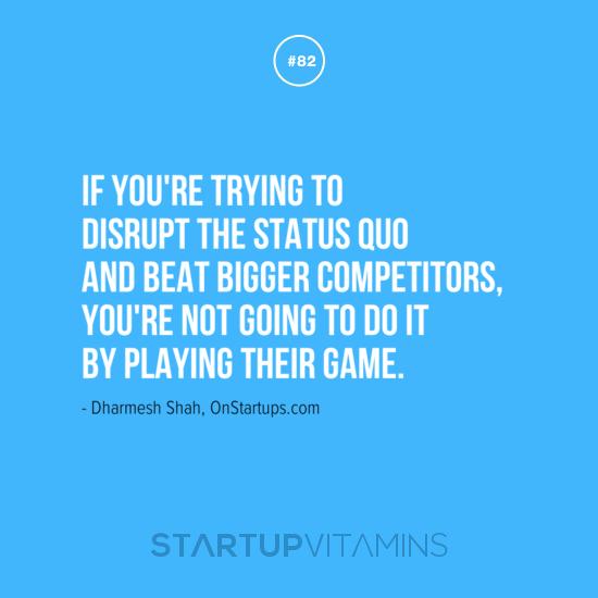 Disrupt quote #1
